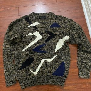 Vintage old tag chunky sweater